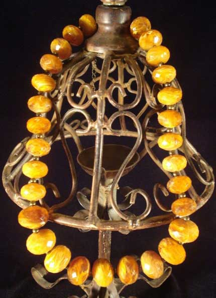 Vintage Amber Coloured Nina Ricci Necklace